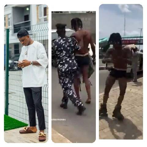 Moment Man Got Arrested For Participating In Zlatan Ibile's 'Chocho Dance Challenge' On The Road