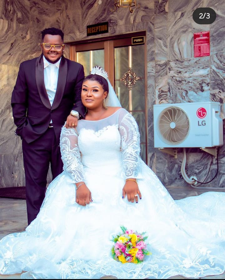 """""""I've seen my better half"""" – Actor Odira Nwobu says as he ties the knot with his wife"""