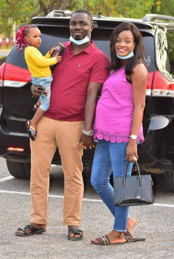 Favour Iwueze of Destiny Kids Welcomes second child with Husband