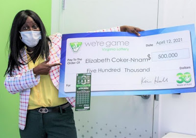 U.S based Nigerian lady wins N210M lottery after getting ticket from brother as birthday gift