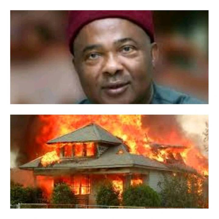 Opinion: This Could Be The Reason Why Governor Uzodimma's House Was Set Ablaze By Unknown Men(Video