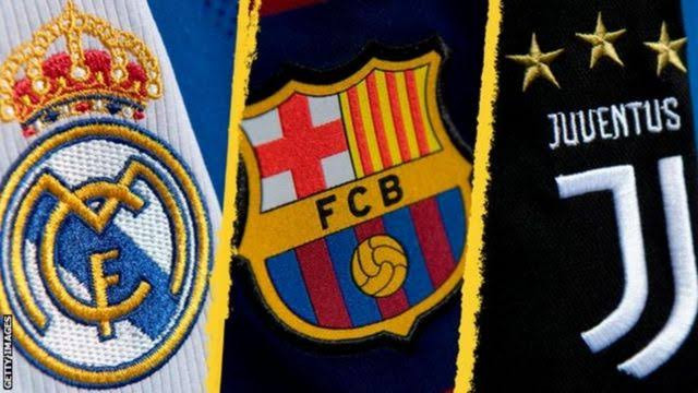 Real Madrid, Barca & Juventus release strong statement warning UEFA against making threats towards them as they continue to cling onto European Super League
