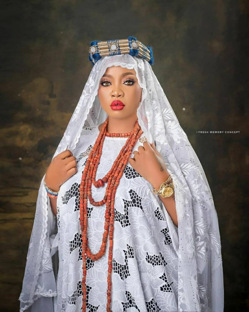 Alaafin of Oyo's wife shares stunning new photos as she turns a year older