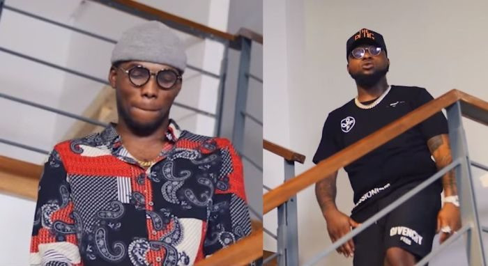 Victor AD reacts to report of Davido stealing Jowo from him