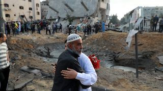 109 Palestinians and 7 Israelis killed as fight between Israel and Hamas enters fifth day