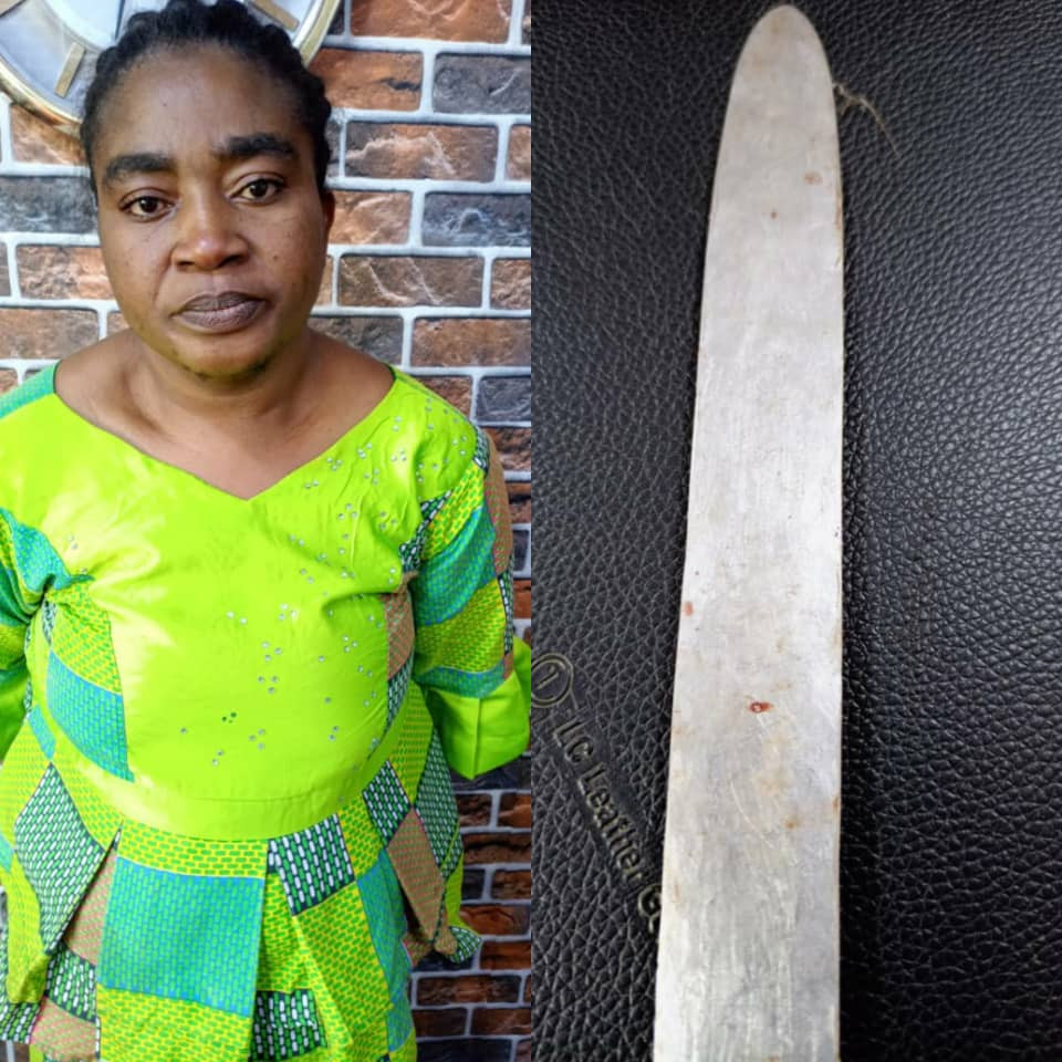 Woman arrested for allegedly stabbing her husband to death in Ogun