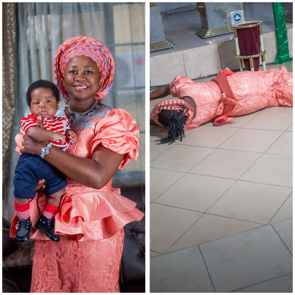 Nigerian woman gives birth to her second child after 16 years of waiting