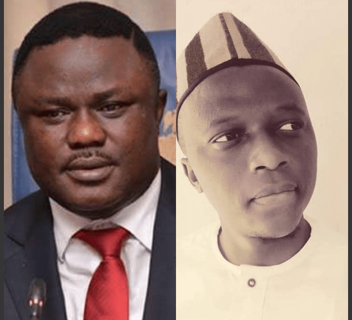 """""""I no dey do again"""" SA to the Cross River State Governor on Student Affairs, Abang Ogon, furiously resigns with letter written in Pidgin English after Ayade's defection"""