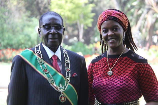 Traditional court fines Robert Mugabe's widow Grace five cows and two goats for 'improperly' burying the Zimbabwean dictator