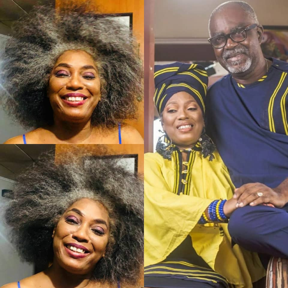 ''I love you die''- Yeni Kuti's partner professes his undying love for her as she turns 60