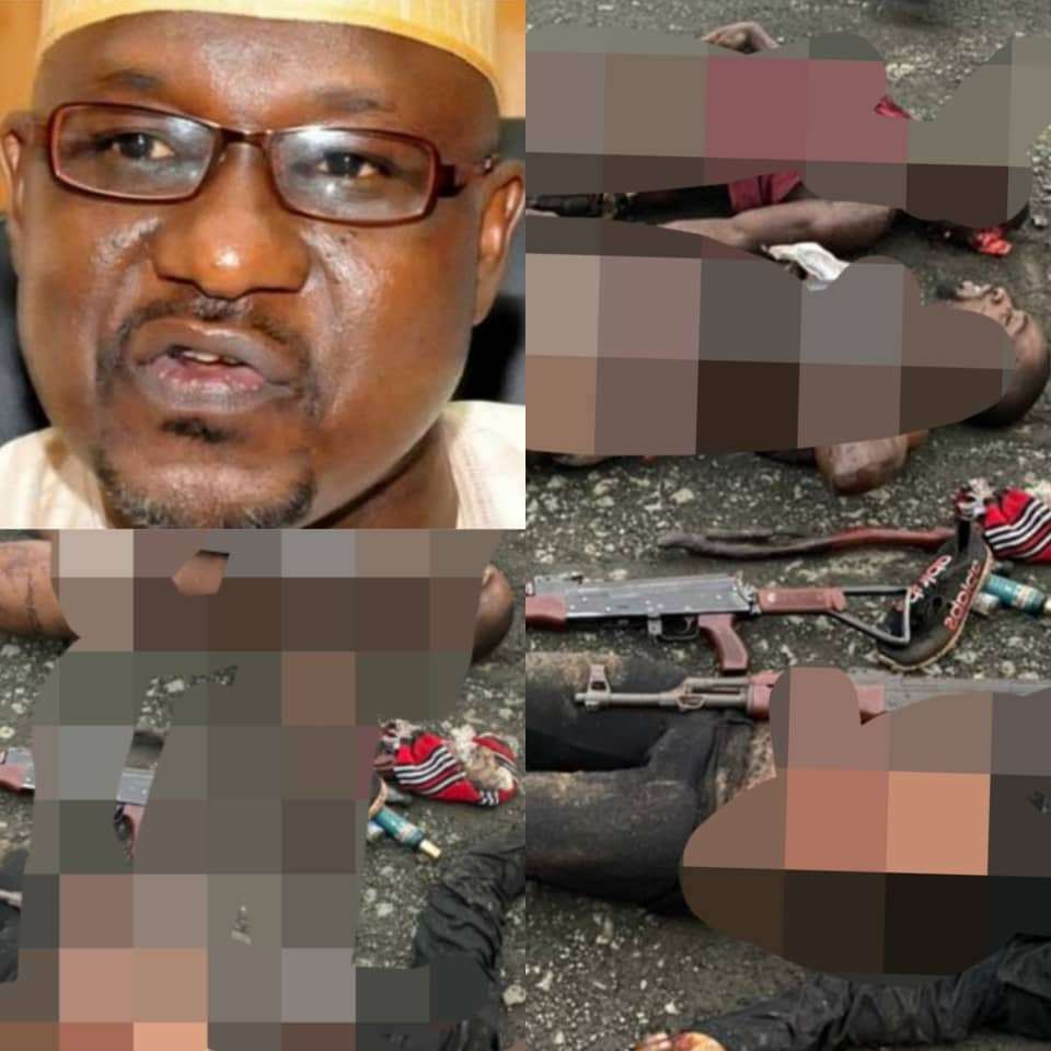 Imo police identify killers of Ahmed Gulak as IPOB/ESN members; kill the six assailants in a gunbattle (photos)