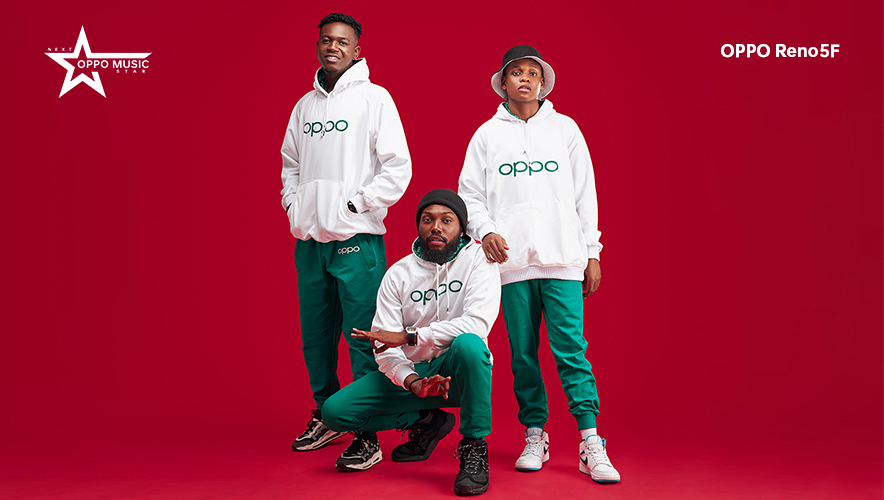 OPPO Nigeria Unveils 3 Finalists in the Viral Reno5F Next OPPO Music Star Contest