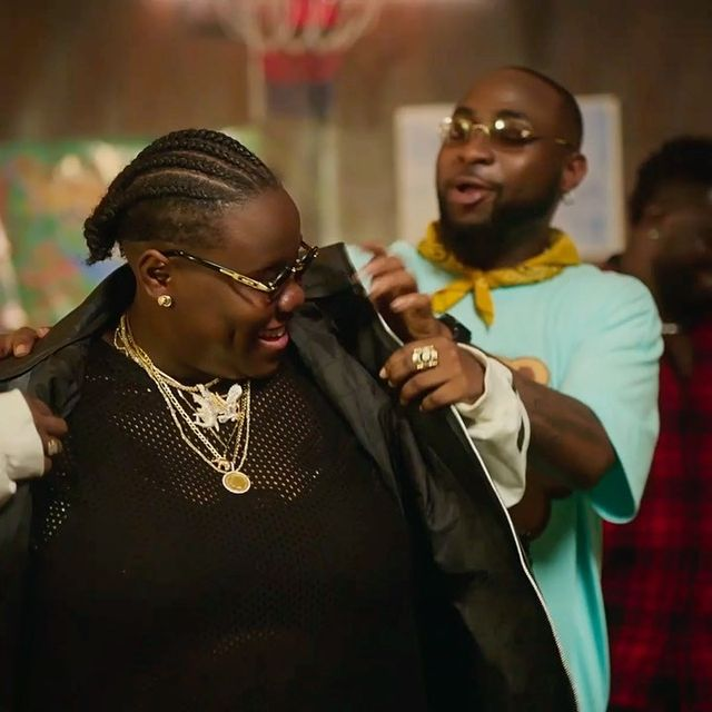 """Davido motivated me to return to Nigeria, he told me I was going to be a huge star"" – Teni"
