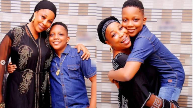 'You bring so much joy to me' – Actress, Kemi Korede pens down tribute to her only child