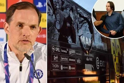 Chelsea manager, Thomas Tuchel recalls horrific team bus terror attack that occured while he was coach of Dortmund