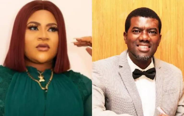 Nkechi Blessing cries out after Reno Omokri mocks Nigerian celebrities who buy used cars