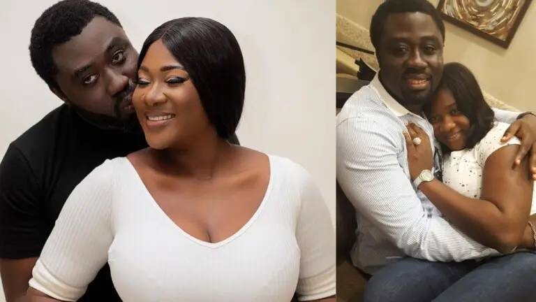 Actress, Mercy Johnson describes her husband in 3 words on his birthday