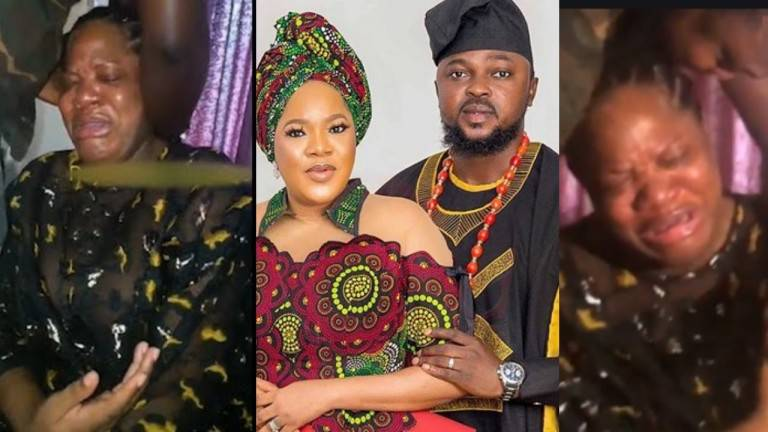 'This cheating is too much'- Toyin Abraham cries out after what her husband did to her
