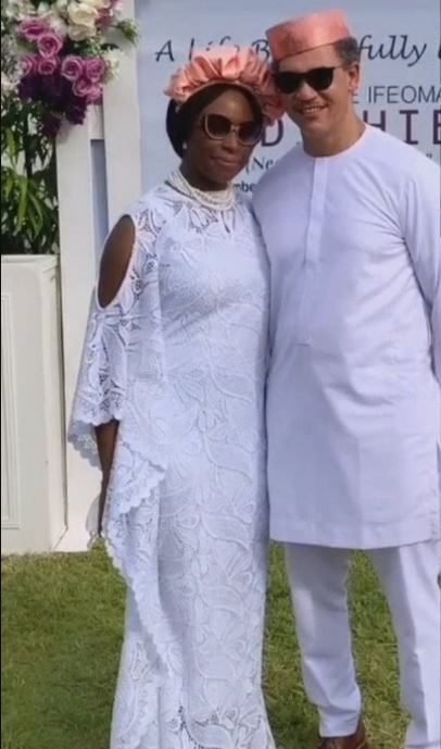 Chimamanda Adichie's mother, Grace, buried in her hometown (Photos/Videos)
