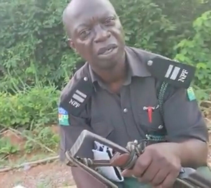 Police arrests bribe-seeking officer in viral video