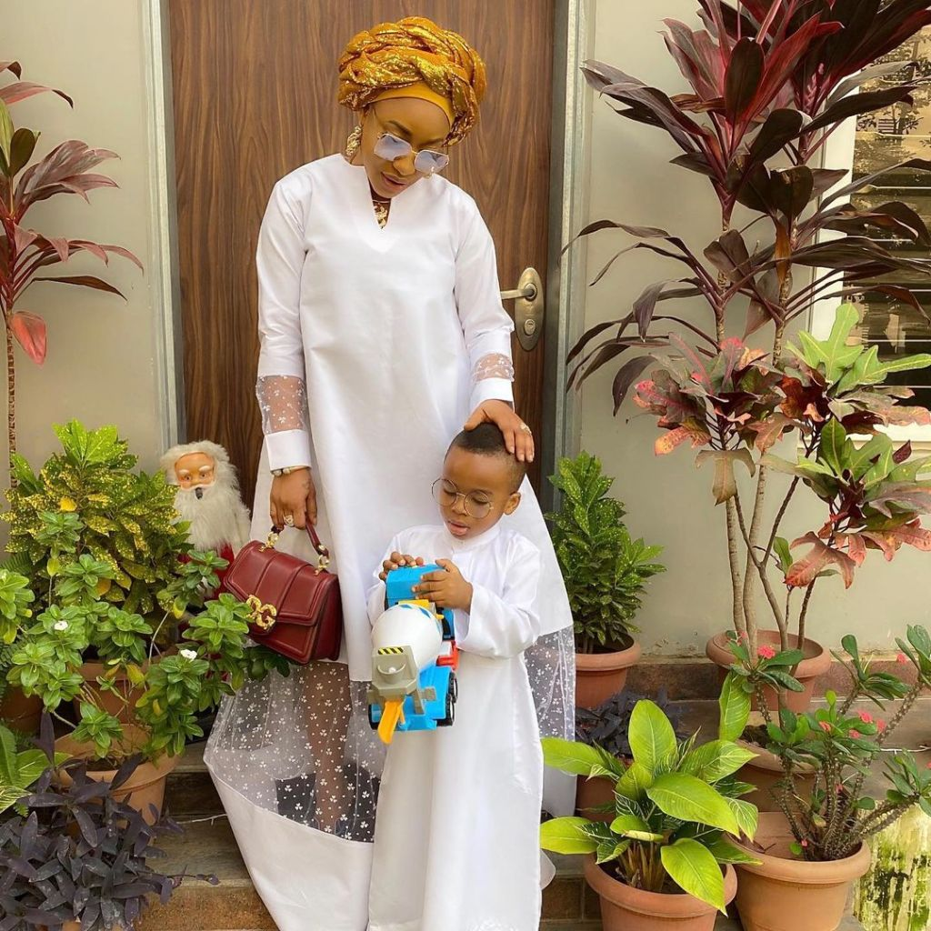 The future of my child and his children are what I live for – Actress, Tonto Dikeh