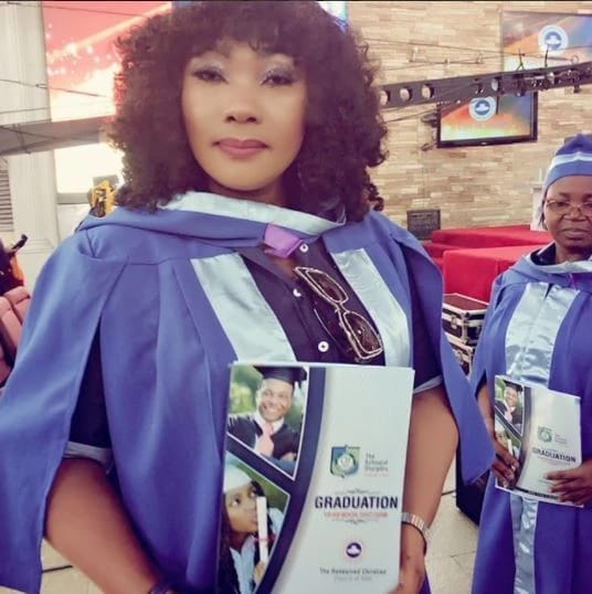 """""""If I could finish my exams while burying my son, what's stopping you"""" – Eucharia Anunobi says as she bags a Ph.D."""