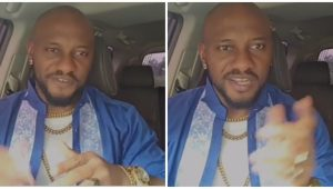 """""""Enter studio already"""" – Fans cheer Actor Yul Edochie as he considers switching to music, shows off rap skills (Video)"""