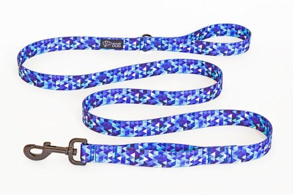 Smycz miejska dla psa, kolekcja Shine in Blue
