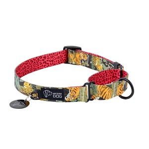 Obroża martingale dla psa, kolekcja Wild Cats