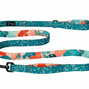 smycz kolorowa modna zestaw spacerowy dla psa warsaw dog