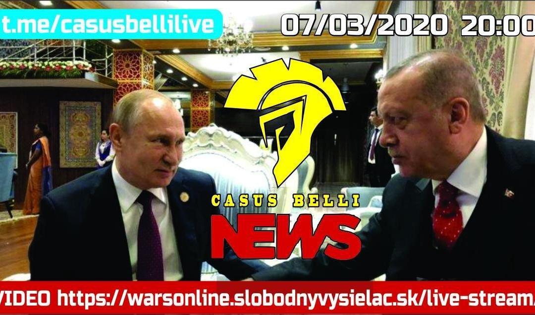 Casus Belli NEWS 06 – United States Of Kebab vs Rusko+Sýria+Irán+Lýbia