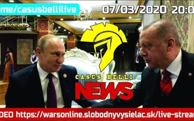 Casus Belli NEWS 06 – United States Of Kebab vs Rusko+Sýria+Irán+Lýbia