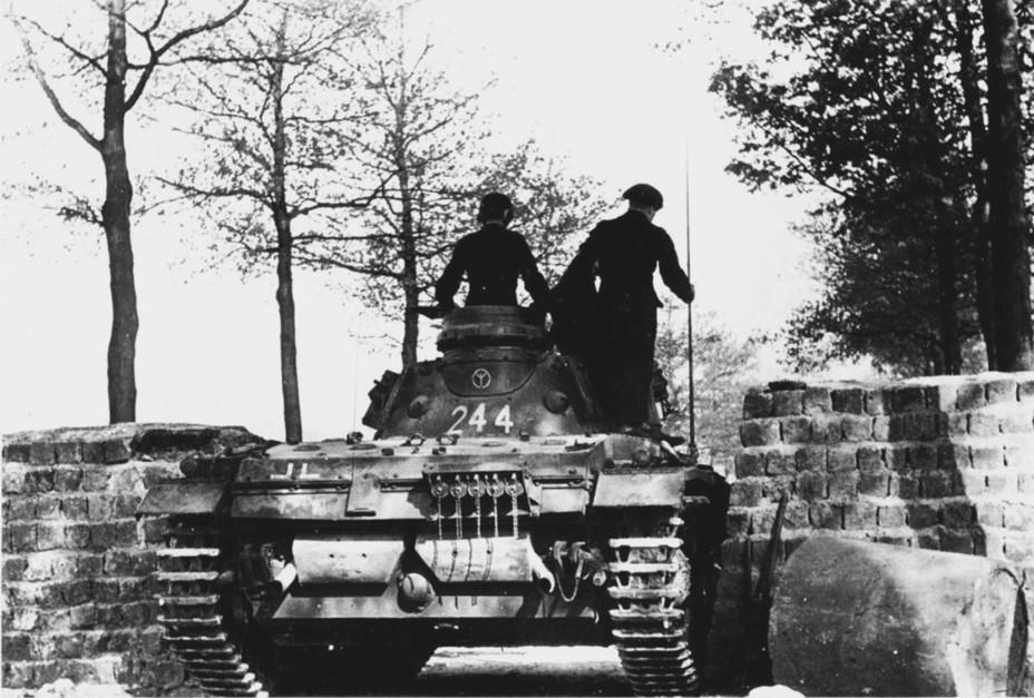 Panzer 3 tank