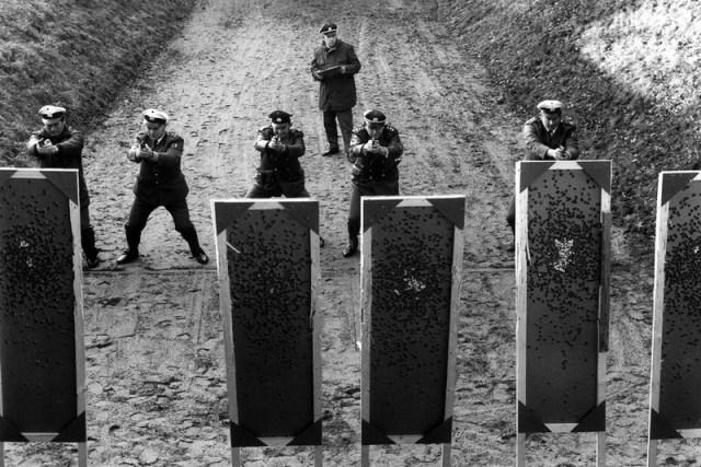 Тренировка западногерманских полицейских в стрельбе из штатного оружия - Мюнхен-1972: точка отсчёта для антитеррора | Warspot.ru