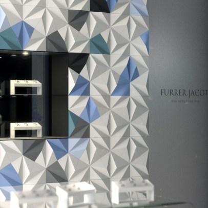 Projekt dla salonu biżuterii Furrer Jacot