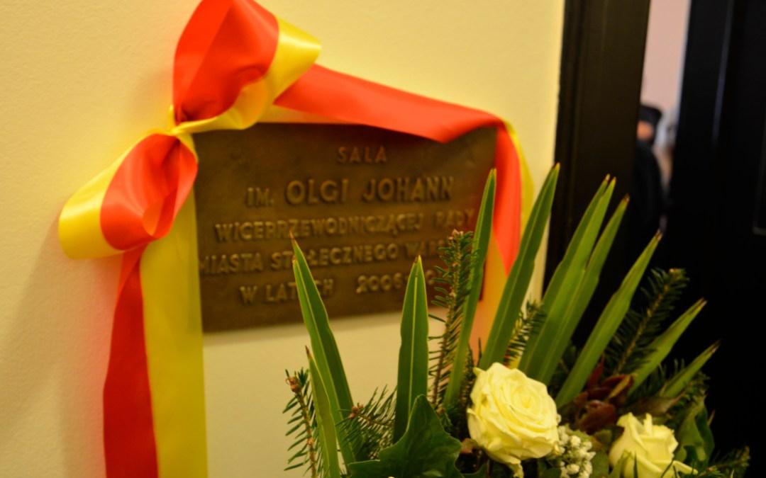 Upamiętnienie Olgi Johann