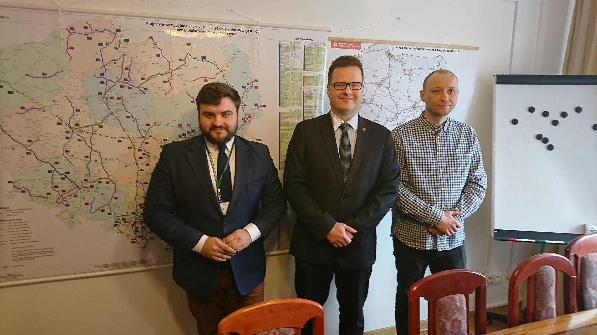 Spotkanie ws. obwodnicy w Ministerstwie Infrastruktury