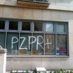 Kolejny atak na biuro warszawskiego PiS