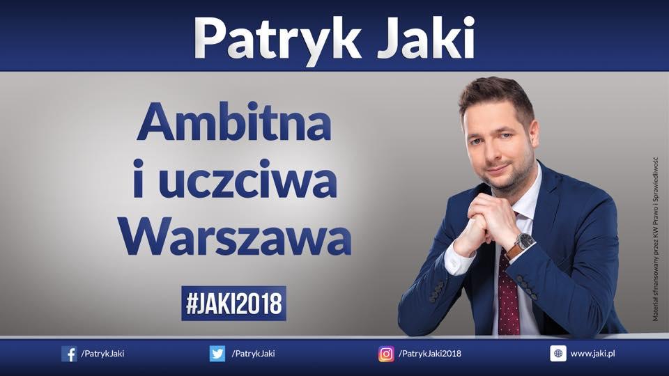 Ambitna i uczciwa Warszawa