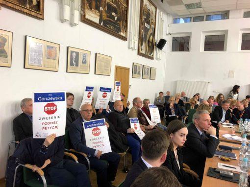 Radni PiS wywalczyli przyjęcie stanowiska Rady Dzielnicy Wola przeciw zwężeniu ul. Górczewskiej