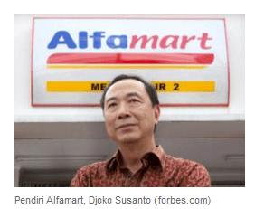 Joko susanto pendiri Alfamart