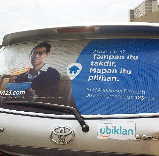 peluang bisnis iklan stiker mobil