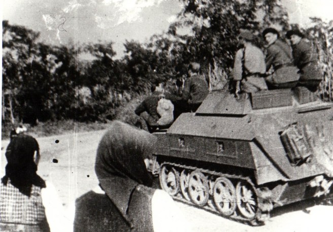 Romanian Soldiers in 1944.