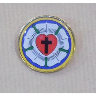 Znaczek - pins Róża Lutra kolor-5010