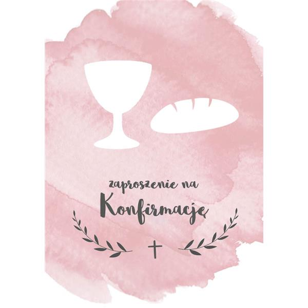 Kartka- Zaproszenie na konfirmację-5213