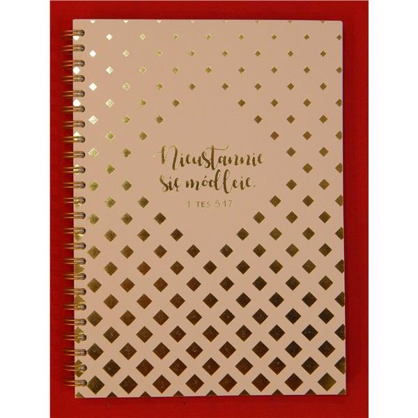 Mój dziennik - złocony - Nieustannie