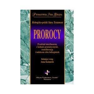 Hebrajsko-polski Stary Testament. Prorocy