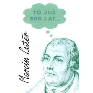 Kartka reformacyjna - Marcin Luter