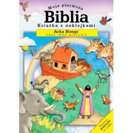 Moja pierwsza Biblia - z naklej.- Arka Noego
