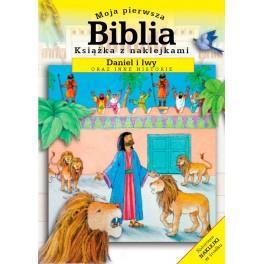 Moja pierwsza Biblia - z naklej. - Daniel i lwy